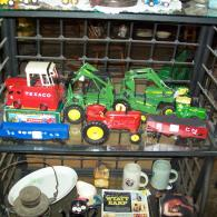 Assorted trucks and tractors