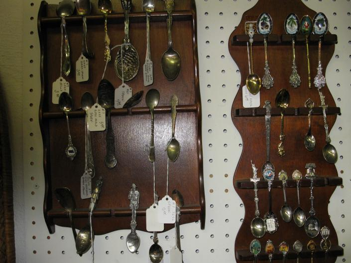 Collector Spoons & Racks